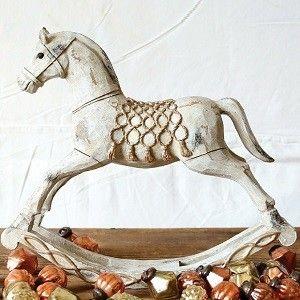 Wooden Horse Rocking