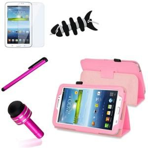 new style fd60e ed064 INSTEN Pink Case Accessories For Samsung Galaxy Tab 3 7.0 7 inch ...