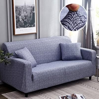 Slipcovers All Inclusive Slip Resistant Sectional Elastic Sofa Cover In 2020 Sofa Covers Single Seater Sofa Slipcovers For Chairs