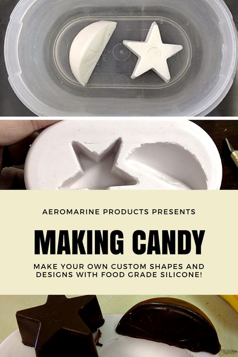 Food Grade Silicone Mold for Chocolate | Casting Projects