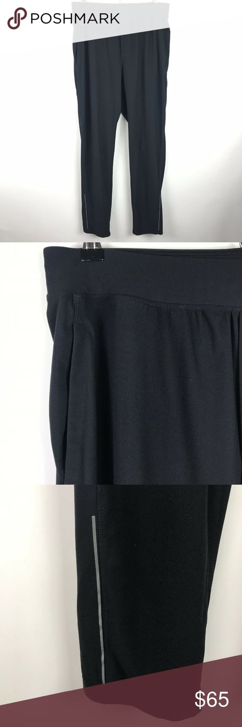 89344378a Lululemon Pants Black Twill Chill Sweatpants Slim Lululemon twill chill  slim tapered black pants with front