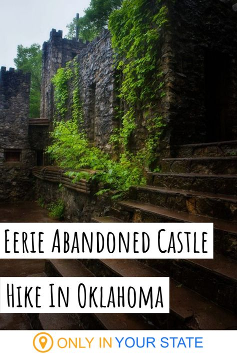 Hike To An Abandoned Castle At Turner Falls Park In Oklahoma Turner Falls Oklahoma, Oklahoma City Thunder, Oklahoma State University, Tulsa Oklahoma, Oklahoma Memes, Altus Oklahoma, Davis Oklahoma, Ardmore Oklahoma, Lawton Oklahoma