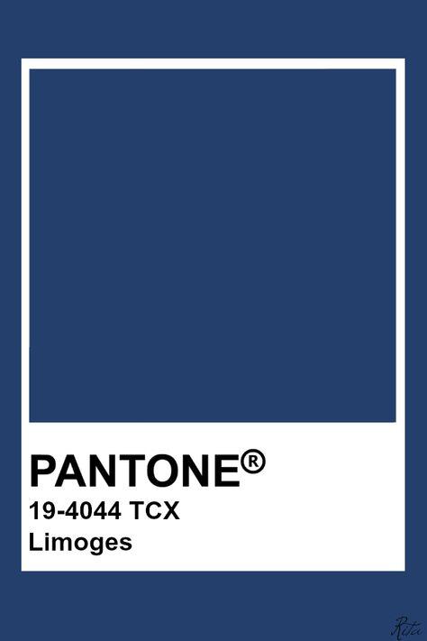 Pantone Limoges