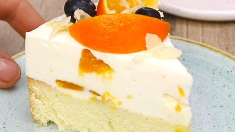 Mandarinen Sahne Quark Torte Rezept In 2019 Kuchen Rezepte