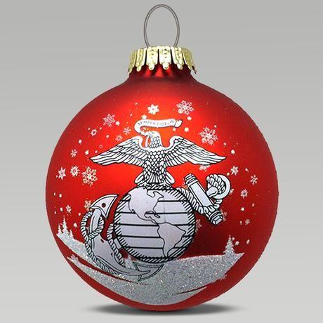 Marines EGA Ornament