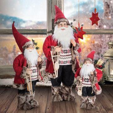 Swiety Mikolaj Lalka Figurka Lampki Led 70 Cm 7674097290 Allegro Pl Wiecej Niz Aukcje Holiday Decor Christmas Ornaments Novelty Christmas