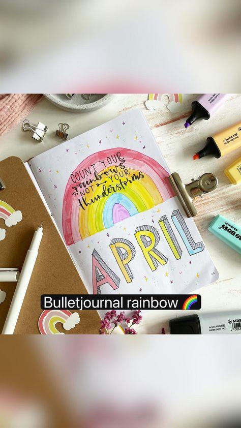 Bulletjournal rainbow 🌈
