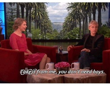 Taylor Swift on The Ellen Show