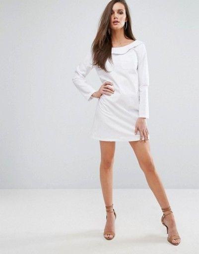 Px23 0p Boohoo Biala Sukienka Koszulowa 42 Xl 7351373813 Oficjalne Archiwum Allegro Fashion Latest Fashion Clothes Fashion Sense