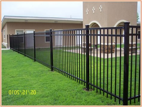 Supernormal Wrought Iron Fence Lowes Fence Design Rod Iron