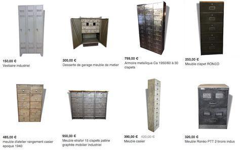 Ou Trouver Une Grande Armoire Metallique Au Style Industriel Armoire Metallique