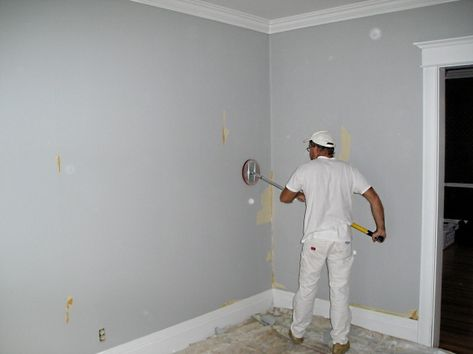 Prepping The Walls To Paint After Wallpaper Wall Painting