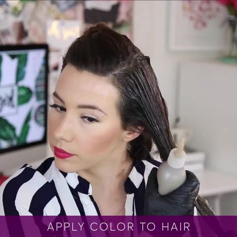 You CAN color your own hair and get gorgeous multi-dimensional results! Find yo #haircolor #hairstyle #haarfarbe #frisuren
