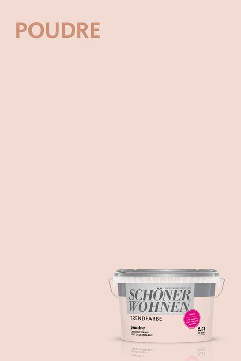Poudre Eine Der Originalen Trendfarben Von Schoner Wohnen Farbe Schoner Wohnen Farbe Schoner Wohnen Wohnzimmerfarbe