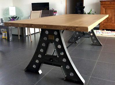 Robin Sicle Meuble Table Bureau Roanne Lyon Saint Etienne Table Salle A Manger Table Bois Massif Table De Salon