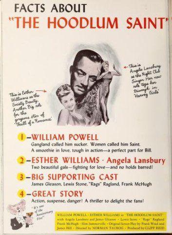 The Hoodlum Saint (1946) | Hoodlum, Esther williams, Musical comedy