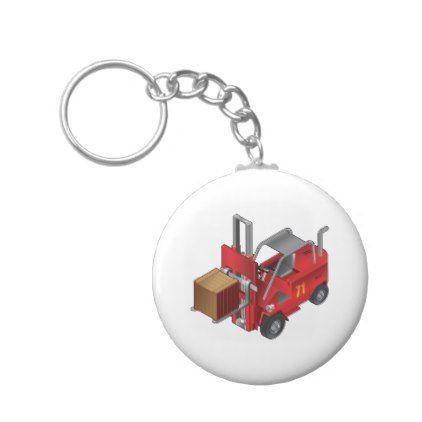 Forklift Truck Keychain Zazzle Com Keychain Custom Keychain Personalized Items