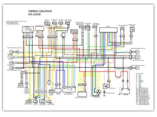 Suzuki Dr Z400 Color Wiring Diagrams Diagram Suzuki Wire