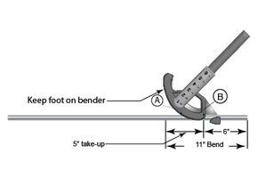 Conduit Bending Accurate Stubs In 2020 Conduit Bending Electricity Electrical Installation