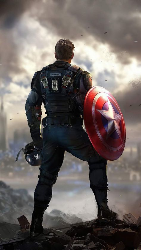 Captain America Marvels Avengers iPhone Wallpaper - iPhone Wallpapers