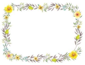 photograph regarding Free Printable Flower Borders identified as Flower Border Down load Printable border, Certification