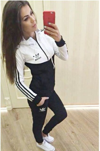 wear adidas jacket nike shoes