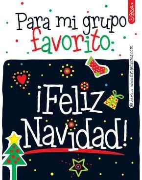 Frases Navidad Wasap.Feliz Navidad Para Grupo De Whatsapp Arbolito Y Figuras De