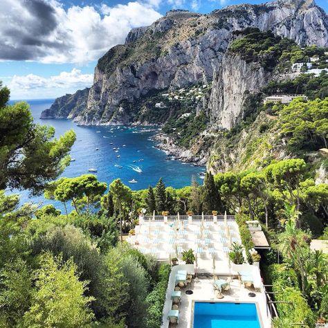 Terrazza Brunella A Capri Napoli In 2019 Amalfi Coast