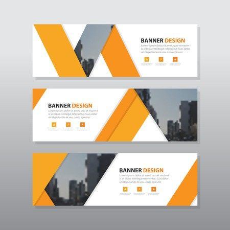 Vector Of Orange Triangle Abstract Id 59129583 Royalty Free Image Stocklib Banner Design Layout Web Banner Design Banner Template Design