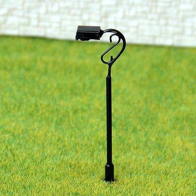 15 Pcs Ho Or Oo Scale Model Lamppost 12v Street Light Metal Lamp 647 Lamp Post Metal Lamp Street Light