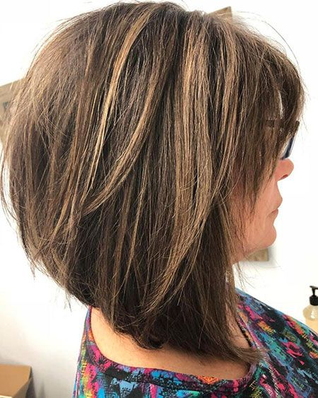 23 Chic Bob Hairstyles For Over 50 Bob Haircut And Hairstyle Ideas In 2020 Modern Hairstyles Long Choppy Bobs Hair Styles For Women Over 50