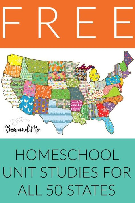 Have a blast studying U. Geography with these free unit studies for all 50 states. Includes extensive book list, famous people and landmarks, state history, field trip ideas, arts and crafts and regional recipes! Perfect for homeschool students grades Teaching History, History Education, Teaching Geography Elementary, 2nd Grade Geography, Study History, Us History, Geography Lessons, Geography Worksheets, Math Worksheets