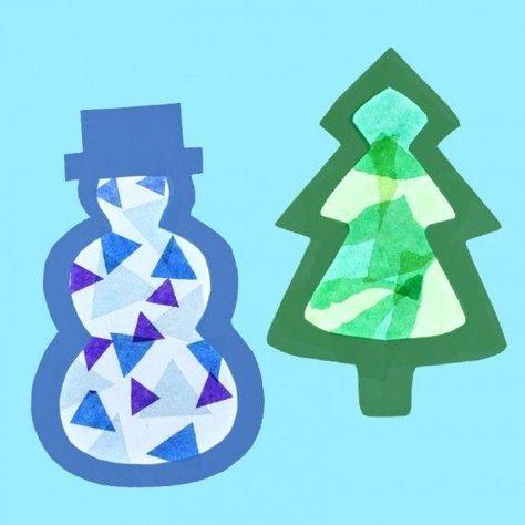 52 Weihnachten-Ideen weihnachtsbasteln basteln