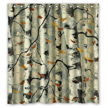 Home With Images Shower Curtain Polyester Tree Shower