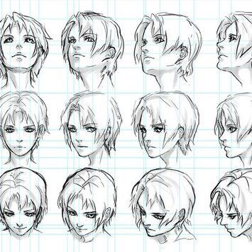 Learn To Draw Manga Drawing Heads Drawings Face Angles