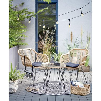 Meble Balkonowe Orlean Meble Wypoczynkowe Do Ogrodu W Atrakcyjnej Cenie W Sklepach Leroy Merlin Outdoor Furniture Outdoor Decor Outdoor Living