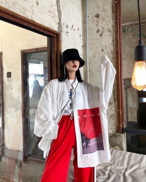 korean street fashion that look fabulous:) 636531 Asian Street Style, Korean Street Fashion, Asian Style, Asian Fashion, Look Fashion, Fashion Design, Daily Fashion, Korean Girl Fashion, Tokyo Fashion