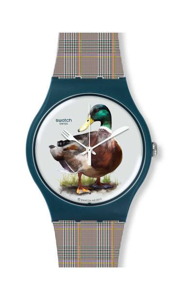 Buy Swatch Duck-Issime Watch for just £