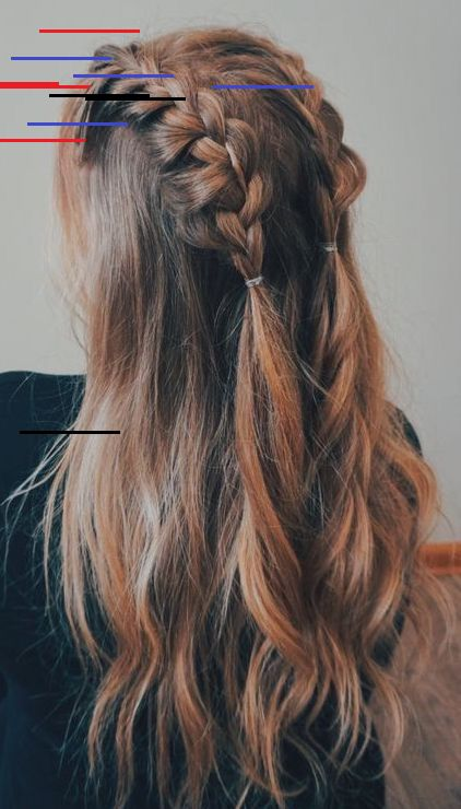 45 Arten Von French Braid Zum Experimentieren Ladies Who Want To Get Pastel Pink Hair Can T Do Without These Hair Styles Cool Braid Hairstyles Long Hair Styles