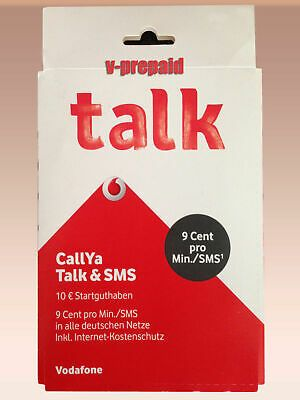 Nano Sim Karte Vodafone.Ebay Sponsored 0174 705 Xxxx D2 Vodafone Callya Prepaid Talk Sms