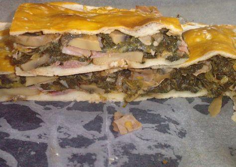 Empanada de espinacas. http://lasrecetasdeyoli.blogspot.com.es/2010/02/empanada-de-espinacas-de-dieta-ww.html
