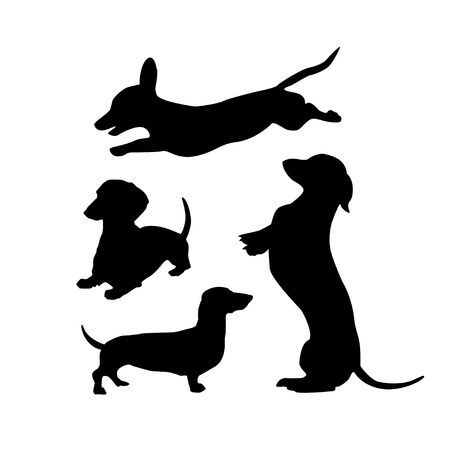 Image Result For Dachshund Silhouette Dachshund Silhouette