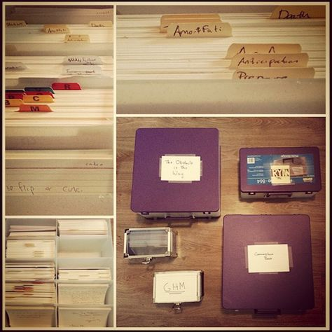 The Notecard System The Key For Remembering Organizing And Using