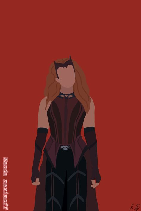 Scarlet witch wallpaper♥�