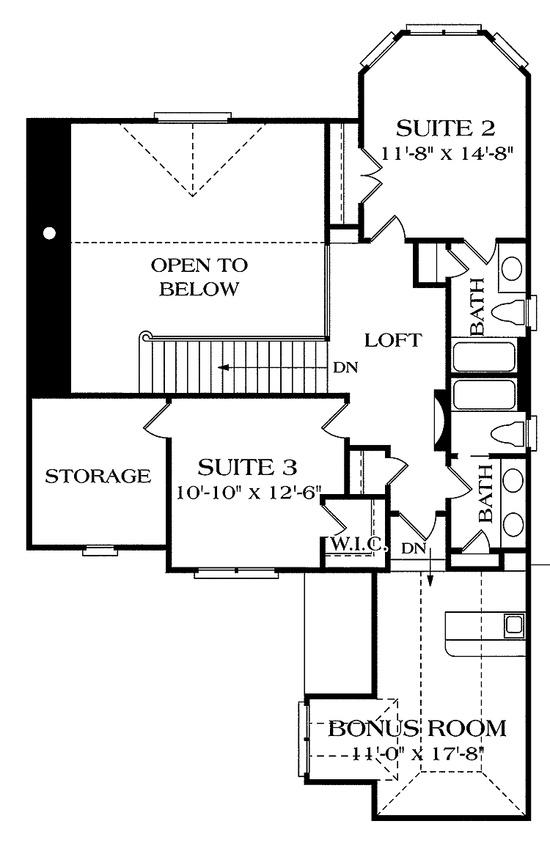 Floor Plan; 2nd Floor