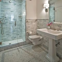 traditional floor tiles by Mosaic Tile Stone