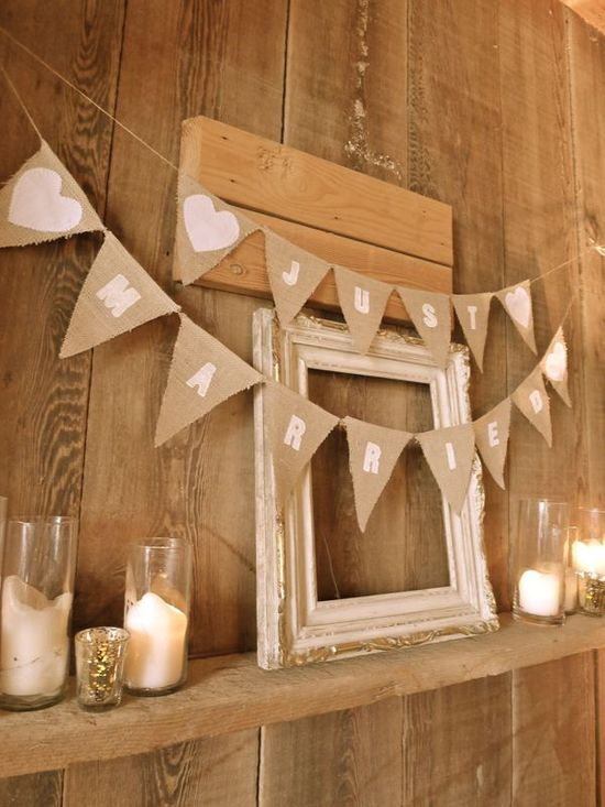 I am looking forward to making this at some point. Wedding Bunting