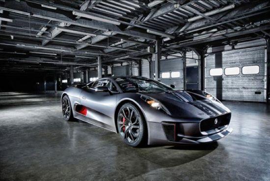 The Phenomenal #Jaguar C-X75 Concept Car
