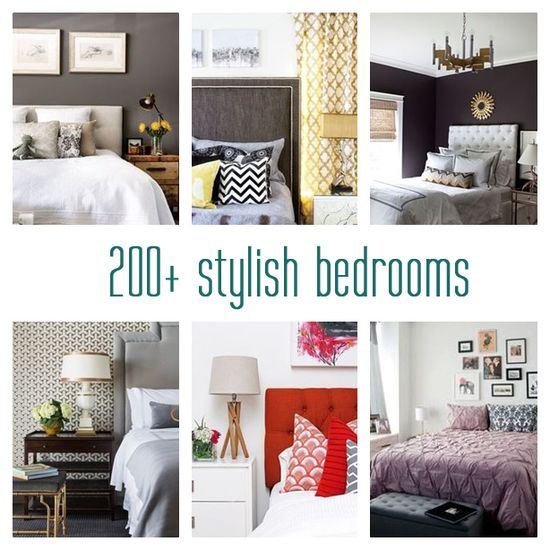 a collection of 200+ stylish bedrooms