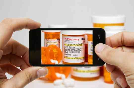 record your prescriptions on your smart phone